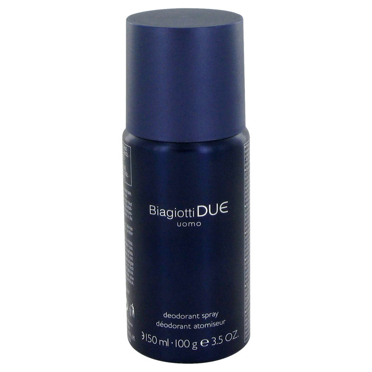 Due Deodorant by Laura Biagiotti 3.5 oz Deodorant Spray for Men