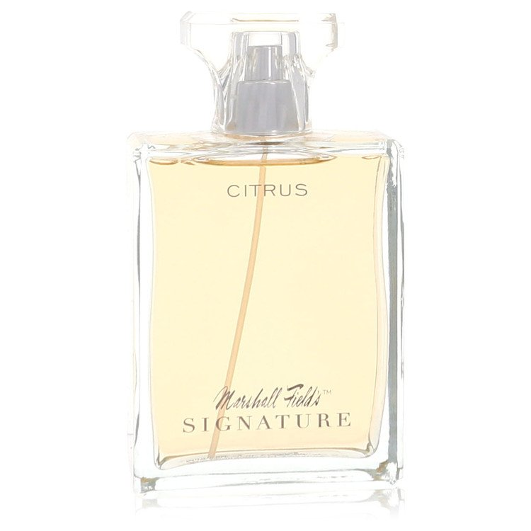 Marshall Fields Signature Citrus by Marshall Fields for Women Eau De Toilette Spray (Scratched box) 3.4 oz