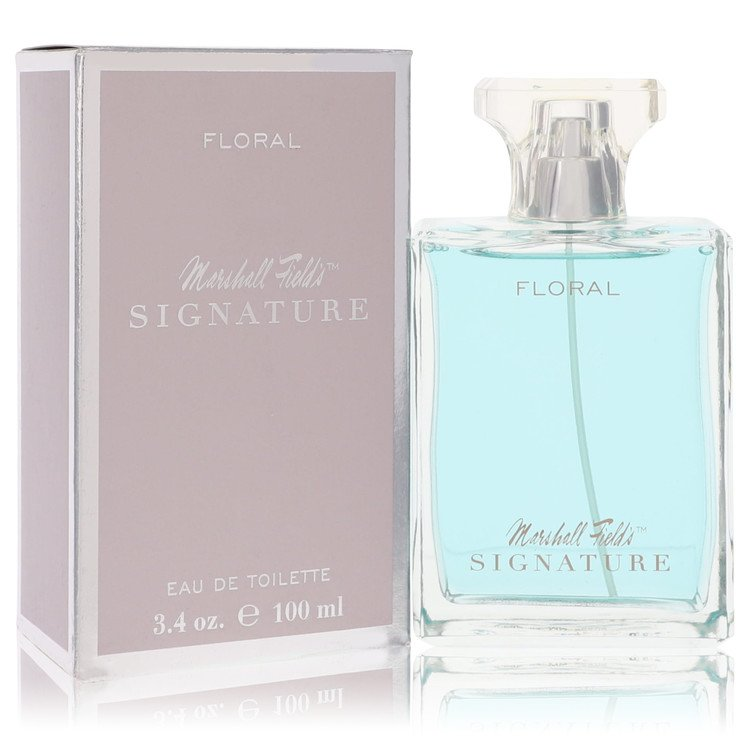 Marshall Fields Signature Floral by Marshall Fields for Women Eau De Toilette Spray (Scratched box) 3.4 oz