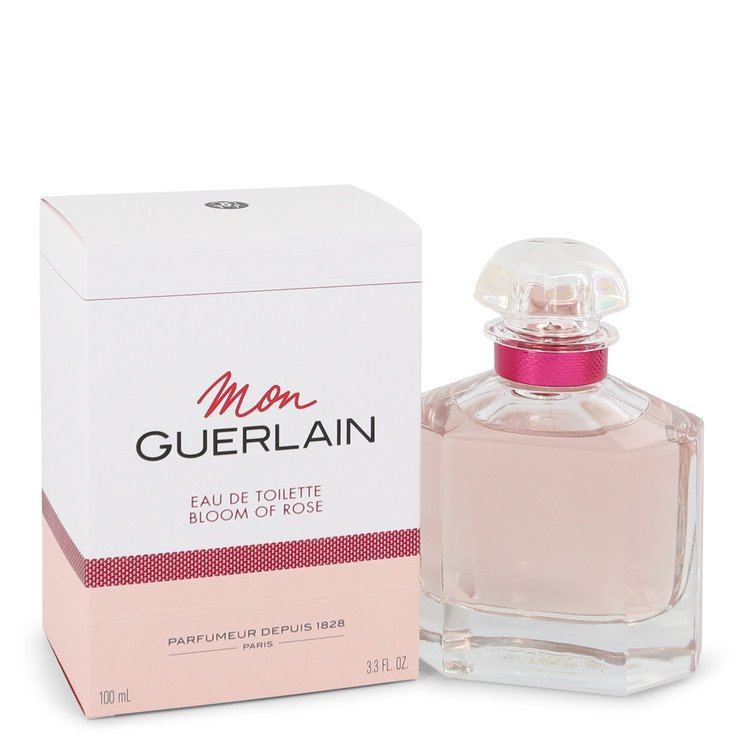 Mon Guerlain Bloom of Rose by Guerlain –  Eau De Toilette Spray 3.3 oz 100 ml for Women
