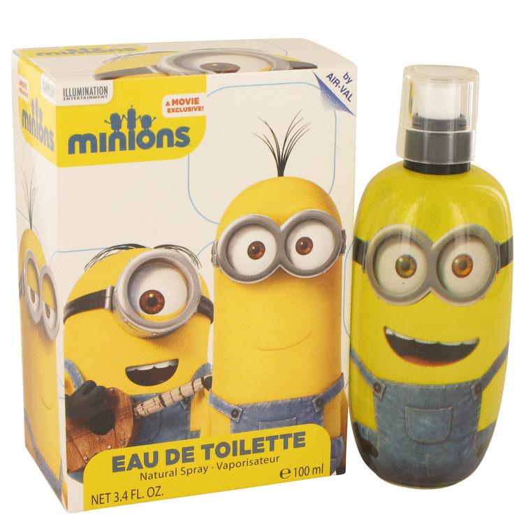 Minions Yellow by Minions for Men Eau De Toilette Spray 3.3 oz