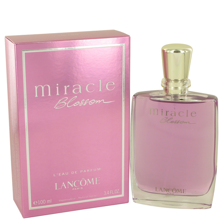 Miracle Blossom by Lancome for Women Eau De Parfum Spray 3.4 oz