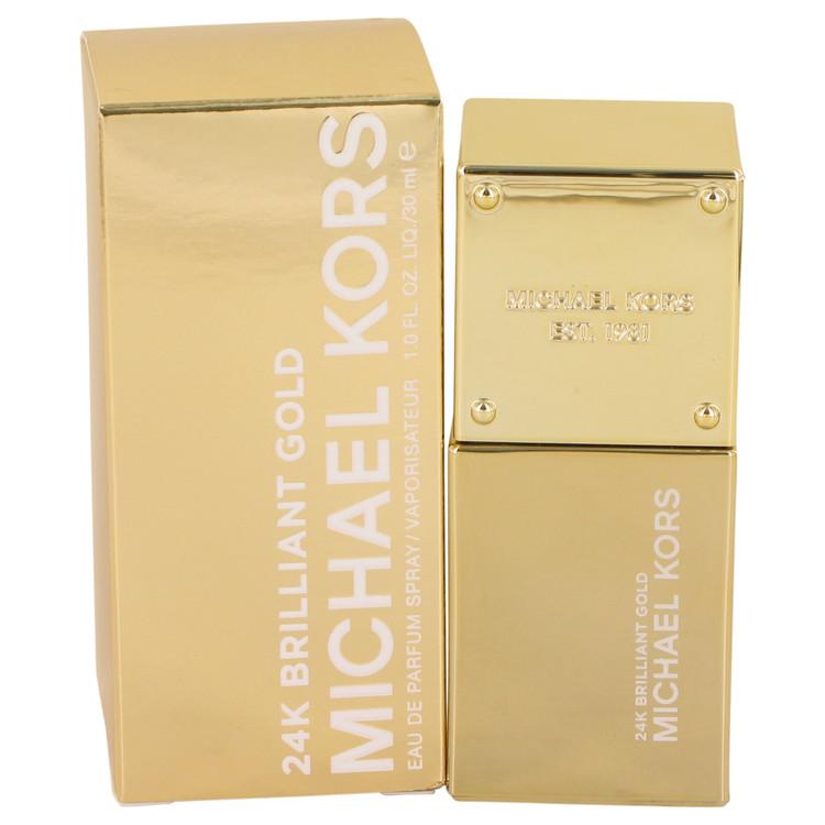 Michael Kors 24K Brilliant Gold by Michael Kors for Women Eau De Parfum Spray 1 oz