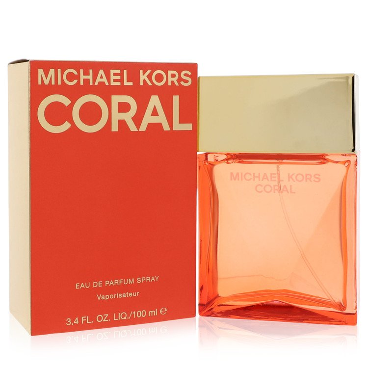 Michael Kors Coral by Michael Kors for Women Eau De Parfum Spray 3.4 oz