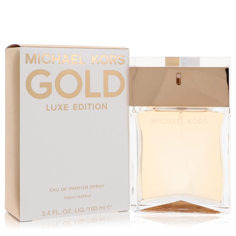 Michael Kors Gold Luxe by Michael Kors for Women Eau De Parfum Spray 3.4 oz