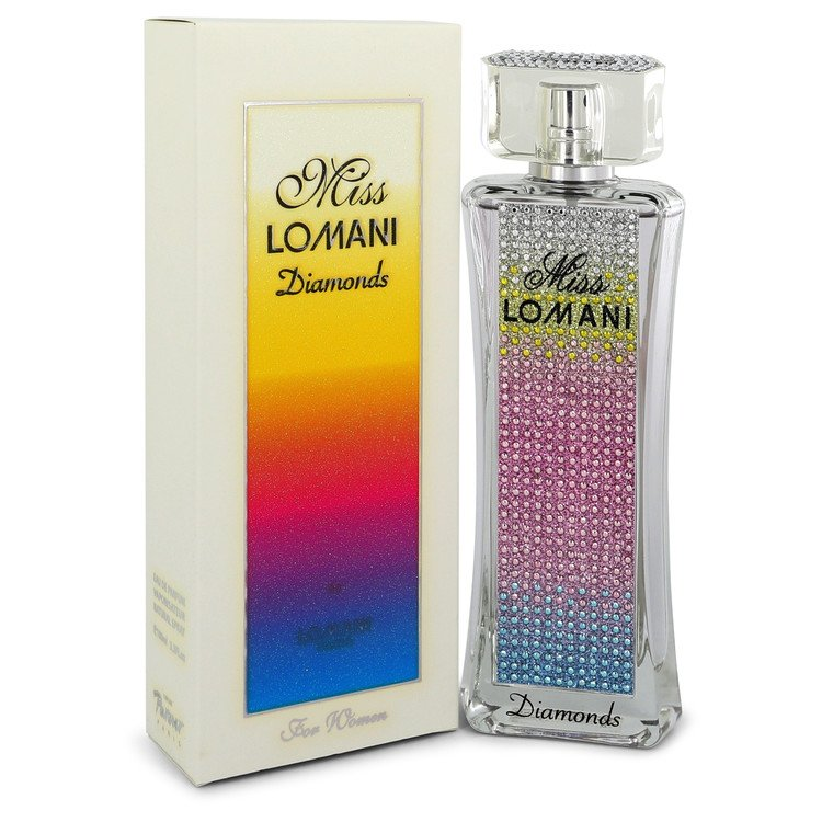 Miss Lomani Diamonds by Lomani Women's Eau De Parfum Spray 3.3 oz