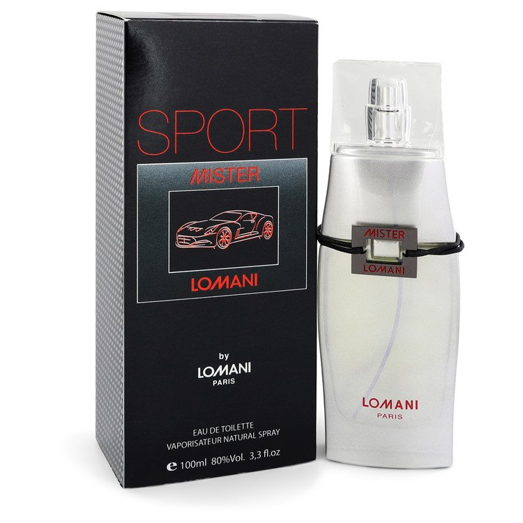 Mister Lomani Sport by Lomani Men's Eau De Toilette Spray 3.3 oz