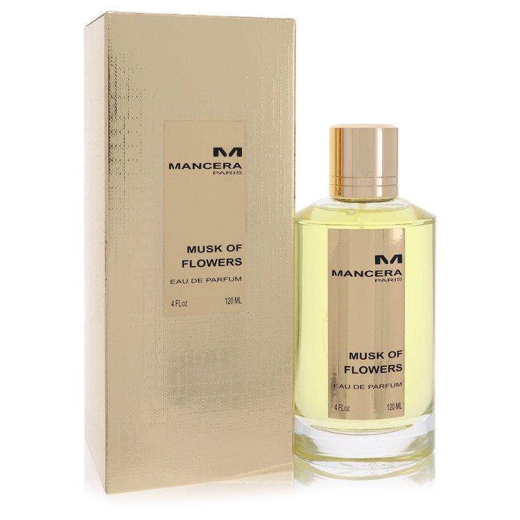 Mancera Musk of Flowers by Mancera for Women Eau De Parfum Spray 4 oz