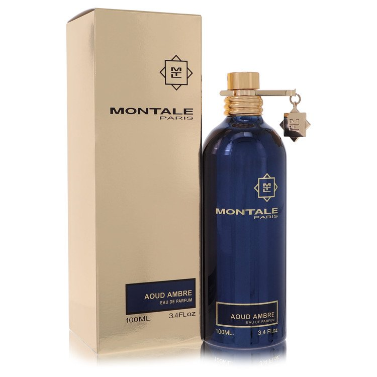 Montale Aoud Ambre by Montale for Women Eau De Parfum Spray (Unisex) 3.4 oz