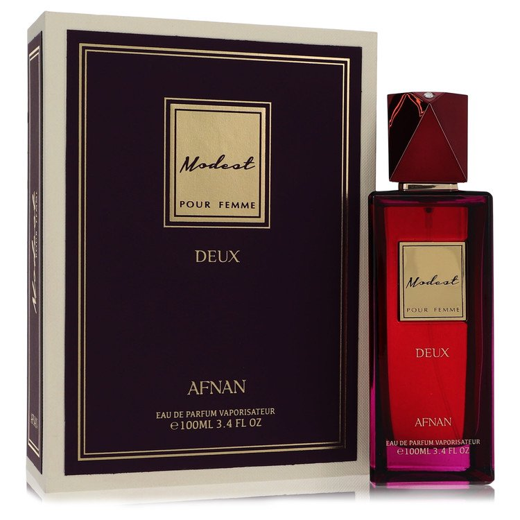 Modest Pour Femme Deux by Afnan –  Eau De Parfum Spray 3.4 oz 100 ml for Women