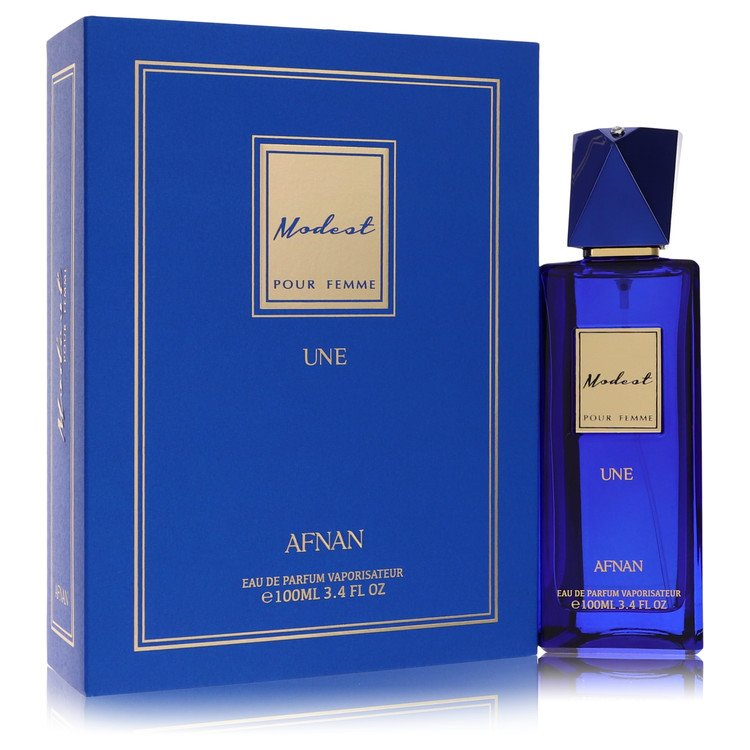 Modest Pour Femme Une by Afnan for Women Eau De Parfum Spray 3.4 oz