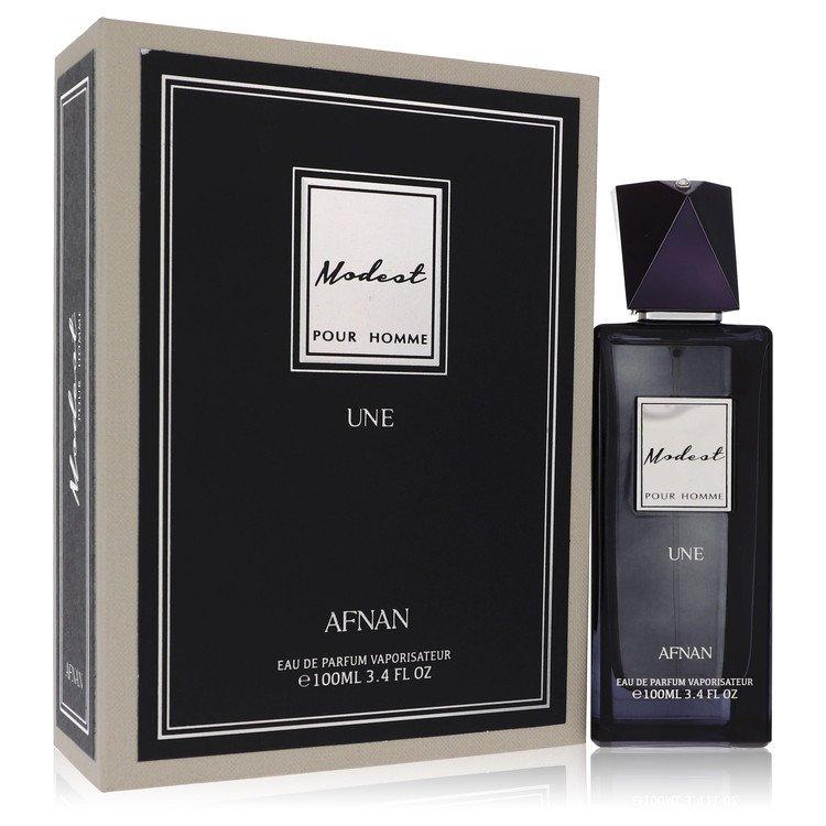 Modest Pour Homme Une by Afnan for Men Eau De Parfum Spray 3.4 oz