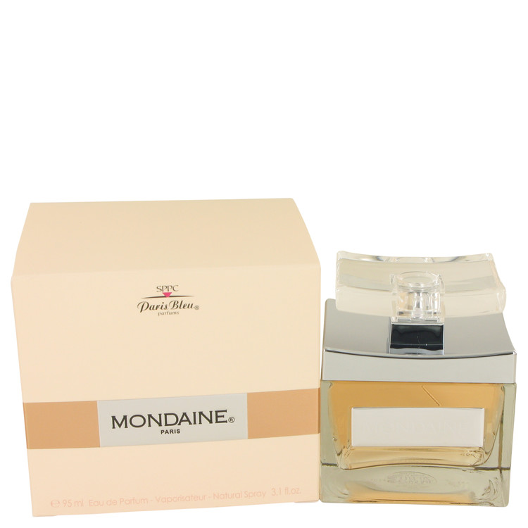Mondaine by Paris Bleu for Women Eau De Parfum Spray 3.1 oz