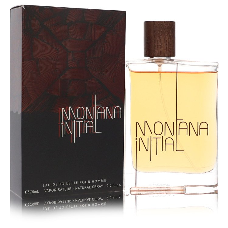 Montana Initial Cologne by Montana 2.5 oz EDT Spay for Men