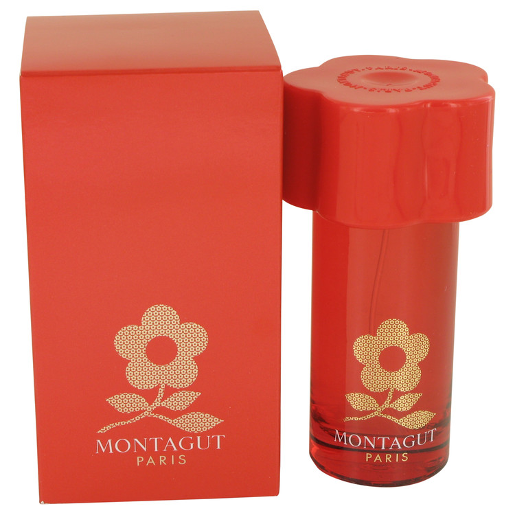 Montagut Red by Montagut for Women Eau De Toilette Spray 1.7 oz