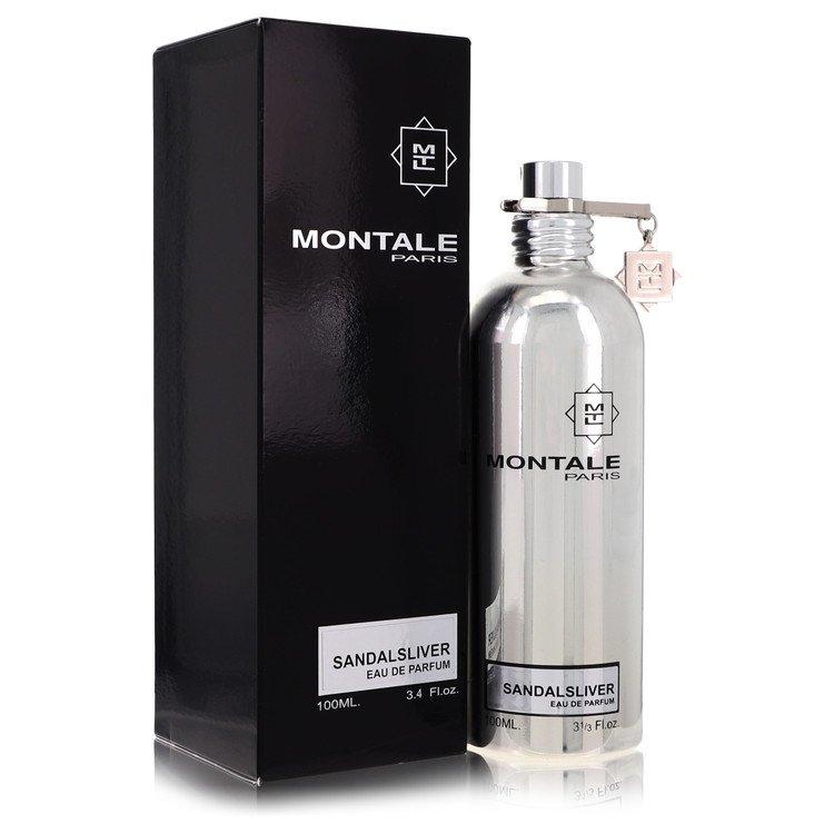 Montale Sandal Silver by Montale for Women Eau De Parfum Spray (Unisex) 3.4 oz