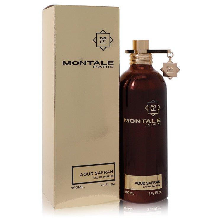 Montale Aoud Safran by Montale for Women Eau De Parfum Spray 3.4 oz