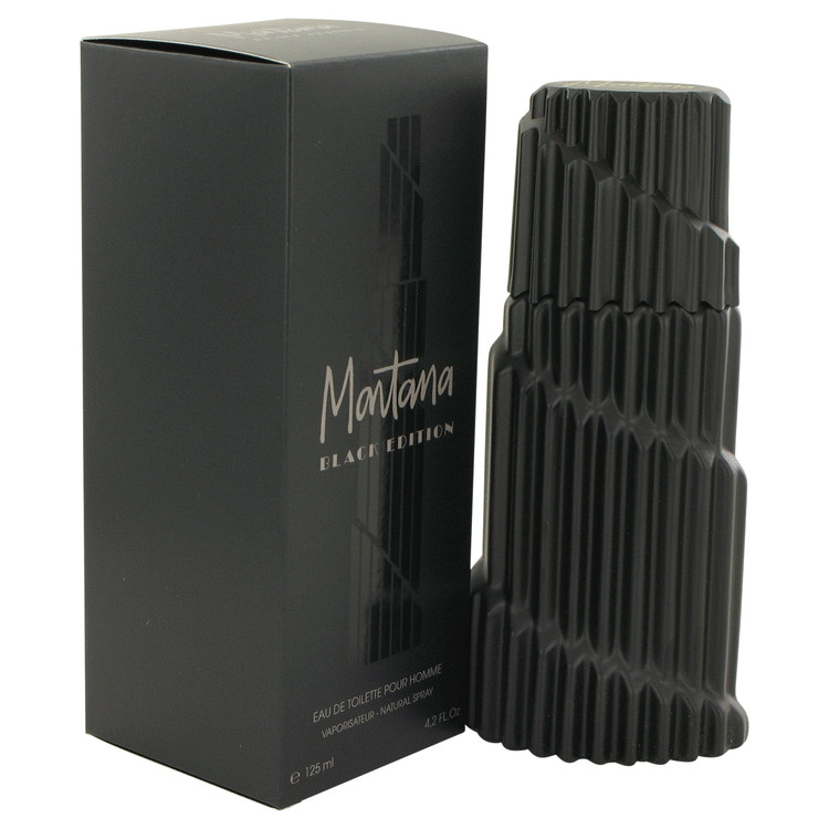 Montana Black Edition Cologne by Montana 4.2 oz EDT Spay for Men