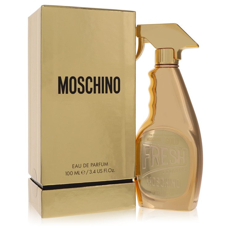 Moschino Fresh Gold Couture Perfume 3.4 oz EDP Spay for Women
