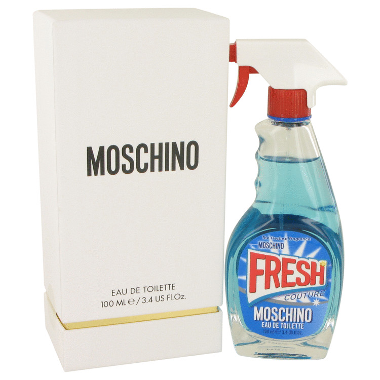 Moschino Fresh Couture Perfume by Moschino 3.4 oz EDT Spay for Women