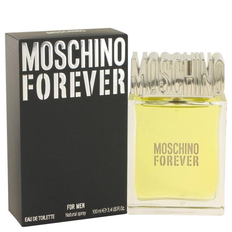 Moschino Forever by Moschino for Men Eau De Toilette Spray 3.4 oz