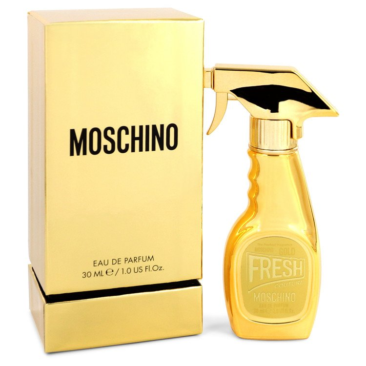 Moschino Fresh Gold Couture Perfume 1 oz EDP Spay for Women