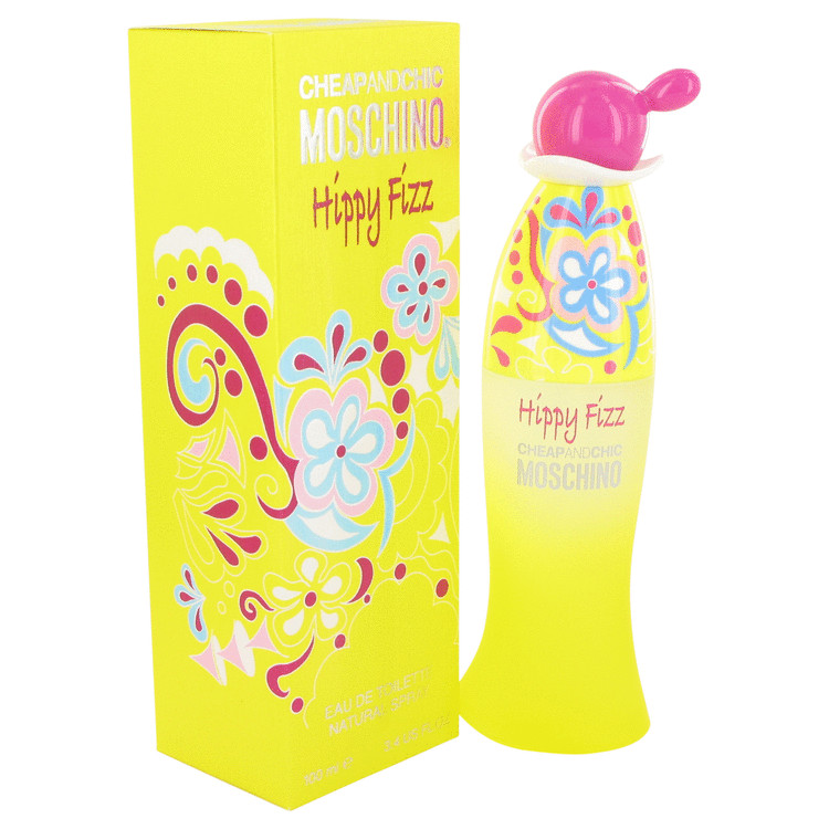 Moschino Hippy Fizz Perfume by Moschino 3.4 oz EDT Spay for Women