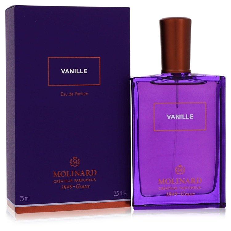 Molinard Vanille Perfume 2.5 oz Eau De Pafum Spray (Unisex) for Women