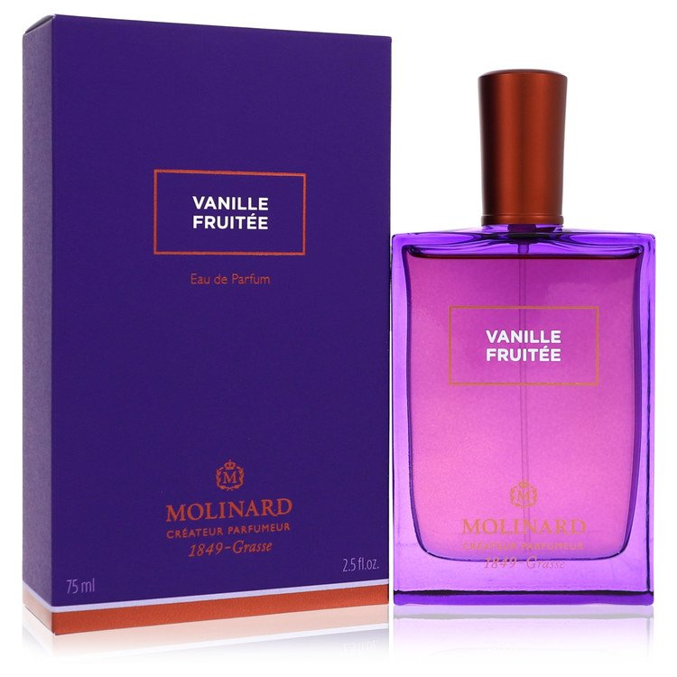 Molinard Vanille Fruitee by Molinard for Women Eau De Parfum Spray (Unisex) 2.5 oz