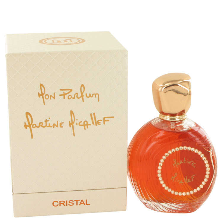 Mon Parfum Cristal by M. Micallef for Women Eau De Parfum Spray 3.3 oz