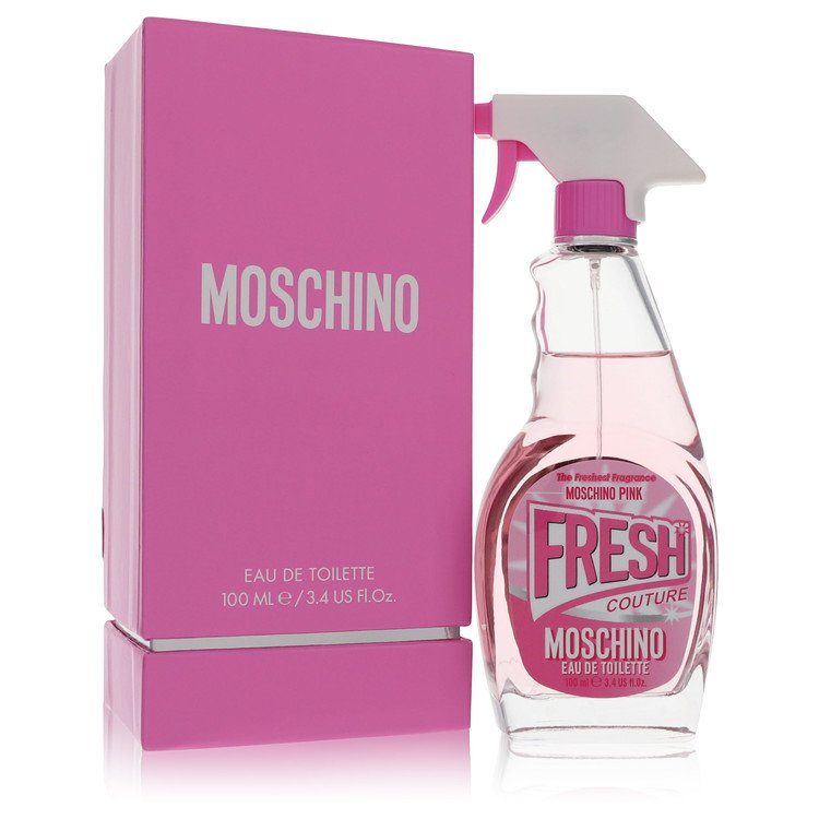Moschino Pink Fresh Couture Perfume 3.4 oz EDT Spay for Women