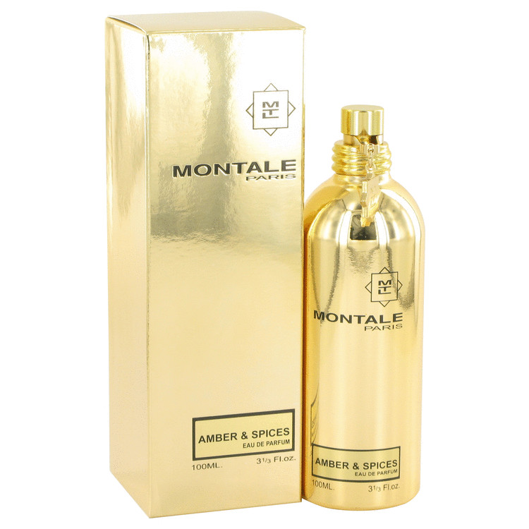 Montale Amber & Spices by Montale for Women Eau De Parfum Spray (Unisex) 3.3 oz