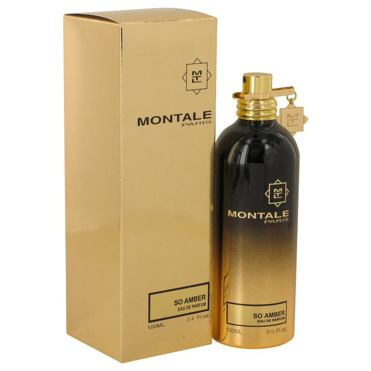 Montale So Amber by Montale for Women Eau De Parfum Spray (Unisex) 3.4 oz