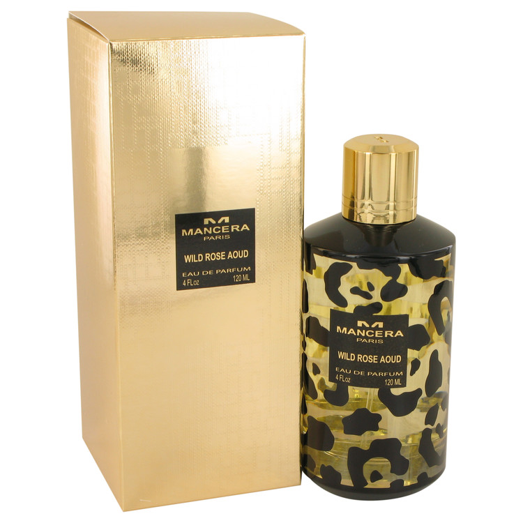 Mancera Wild Rose Aoud by Mancera for Women Eau De Parfum Spray (Unisex) 4 oz