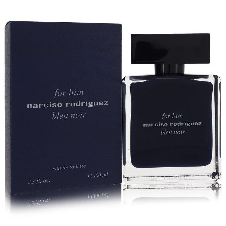 Narciso Rodriguez Bleu Noir by Narciso Rodriguez for Men Eau De Toilette Spray 3.4 oz