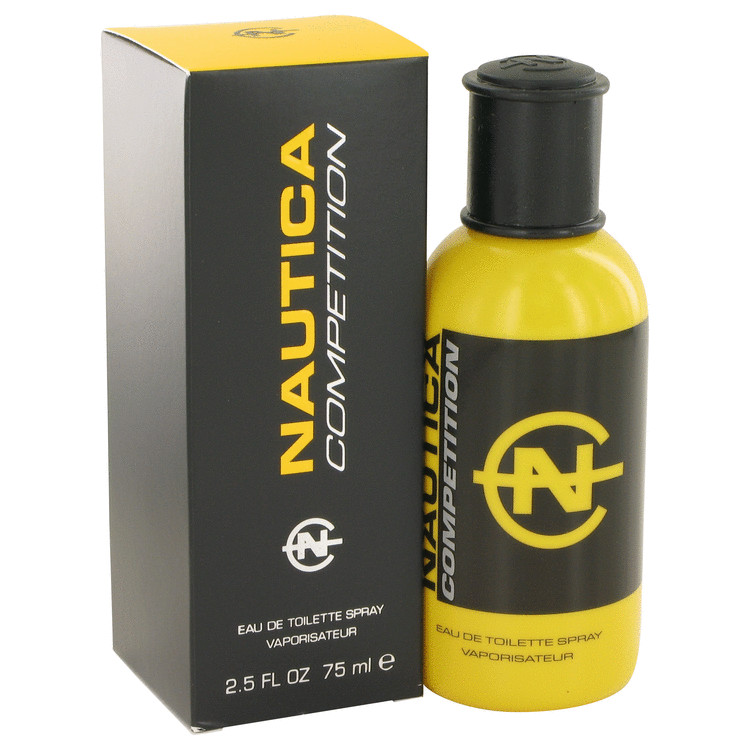 Nautica Competition Cologne 2.5 oz EDT Spray (Yellow Package) for Men