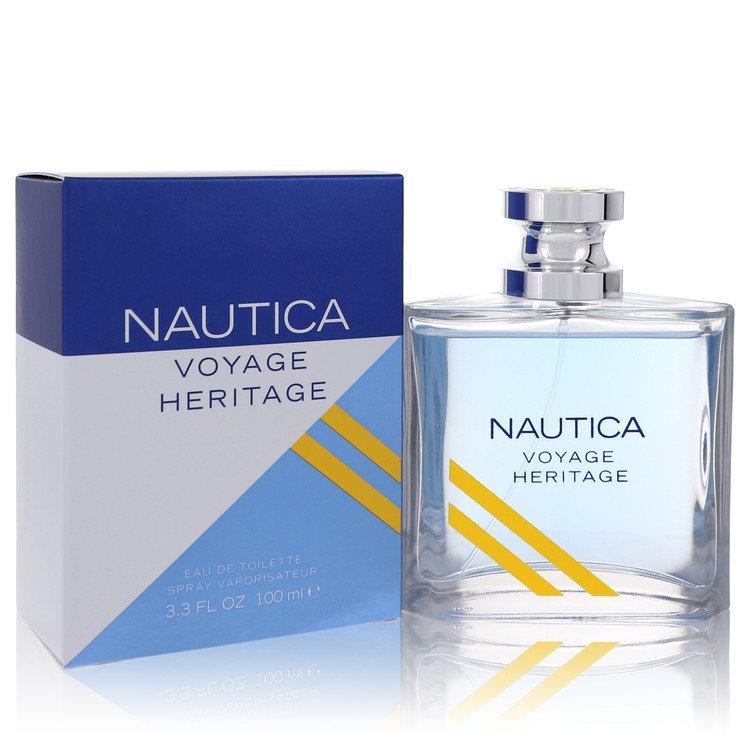 Nautica Voyage Heritage by Nautica for Men Eau De Toilette Spray 3.4 oz