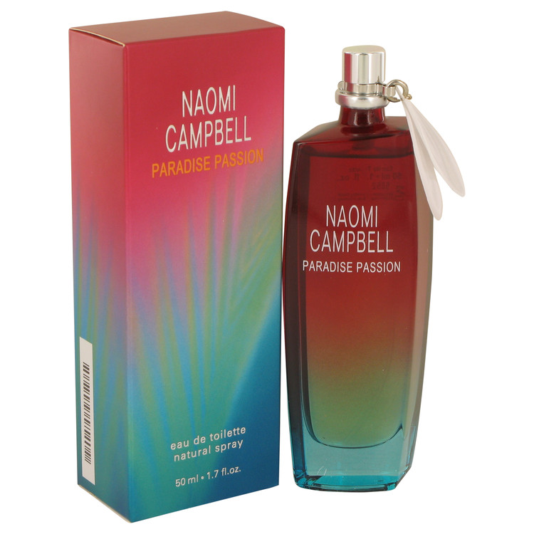 Naomi Campbell Paradise Passion by Naomi Campbell for Women Eau De Toilette Spray 1.7 oz
