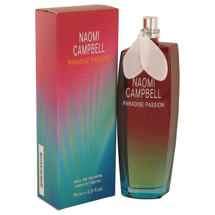 Naomi Campbell Paradise Passion by Naomi Campbell for Women Eau De Toilette Spray 2.5 oz
