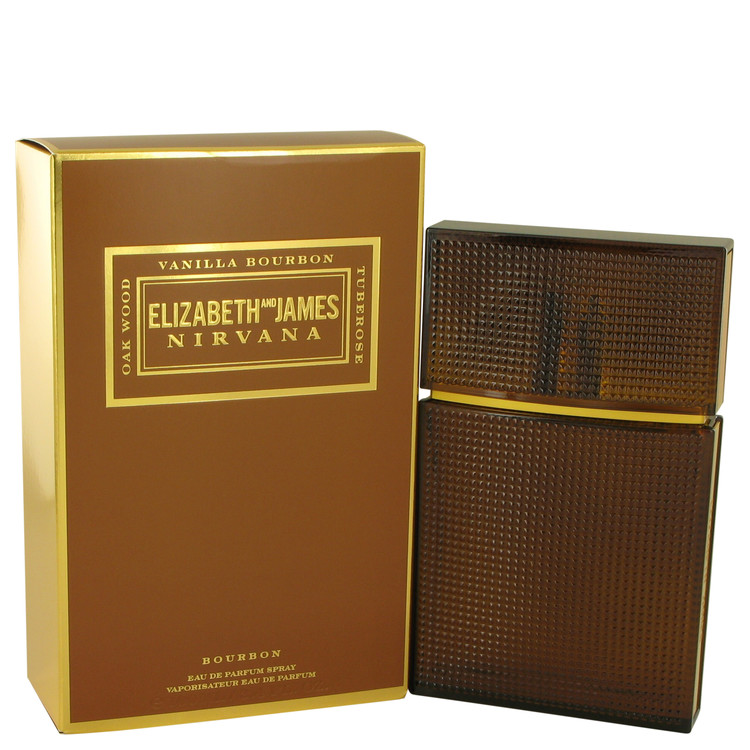 Nirvana Bourbon by Elizabeth and James for Women Eau De Parfum Spray 3.4 oz