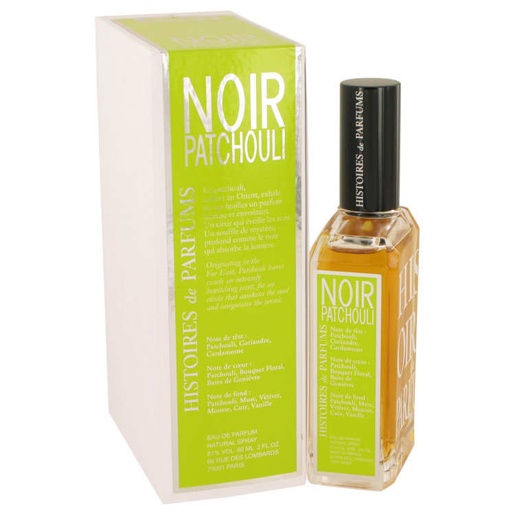 Noir Patchouli by Histoires De Parfums for Women Eau De Parfum Spray (Unisex) 2 oz