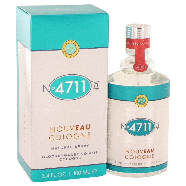 4711 Nouveau by Maurer & Wirtz for Men Cologne Spray (unisex) 3.4 oz