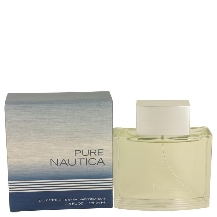 Nautica Pure Cologne by Nautica 3.4 oz EDT Spray for Men