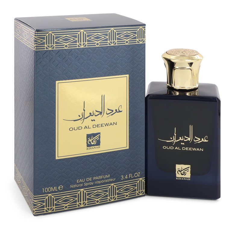 Oud Al Deewan by Rihanah Women's Eau De Parfum Spray (Unisex) 3.4 oz