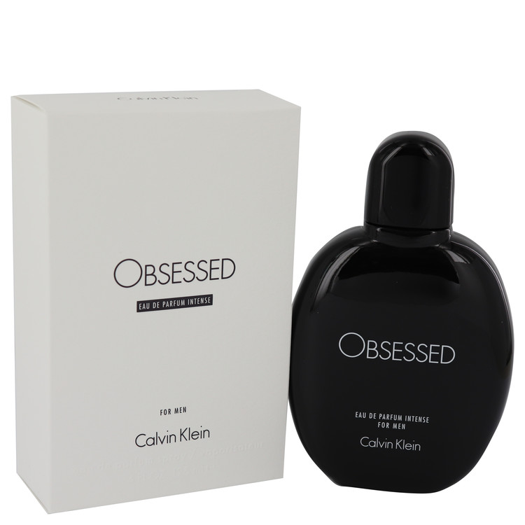 Obsessed Intense by Calvin Klein for Men Eau De Parfum Spray 4.2 oz