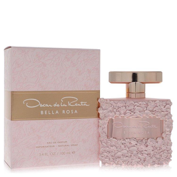 Bella Rosa by Oscar De La Renta Eau De Parfum Spray 3.4 oz