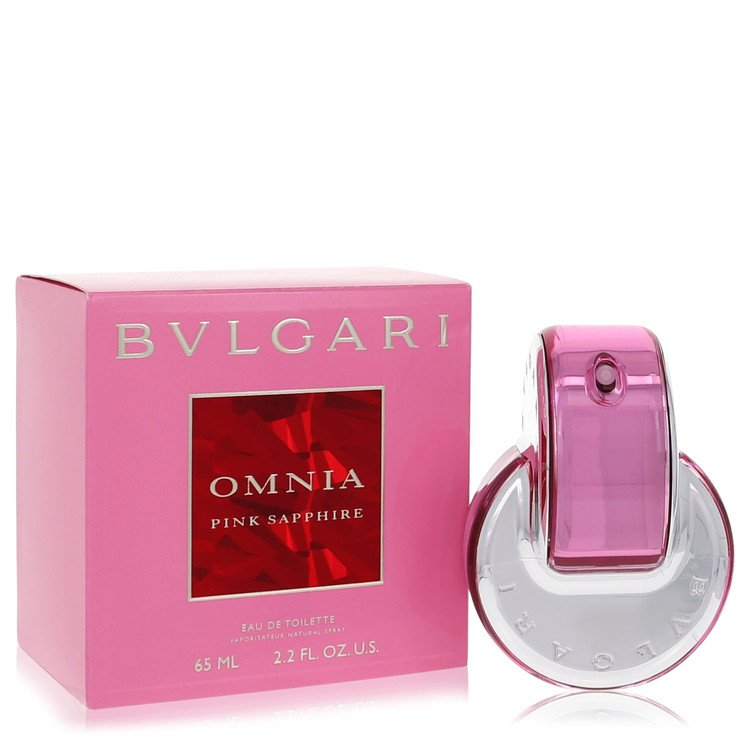 Omnia Pink Sapphire Perfume by Bvlgari 2.2 oz EDT Spay for Women Spray
