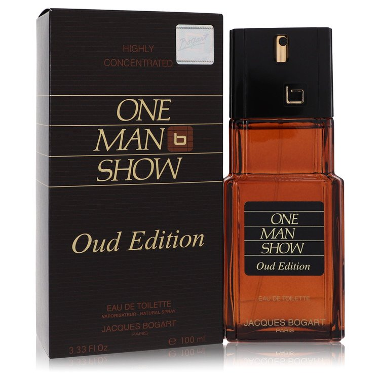 One Man Show Oud Edition by Jacques Bogart for Men Eau De Toilette Spray 3.4 oz