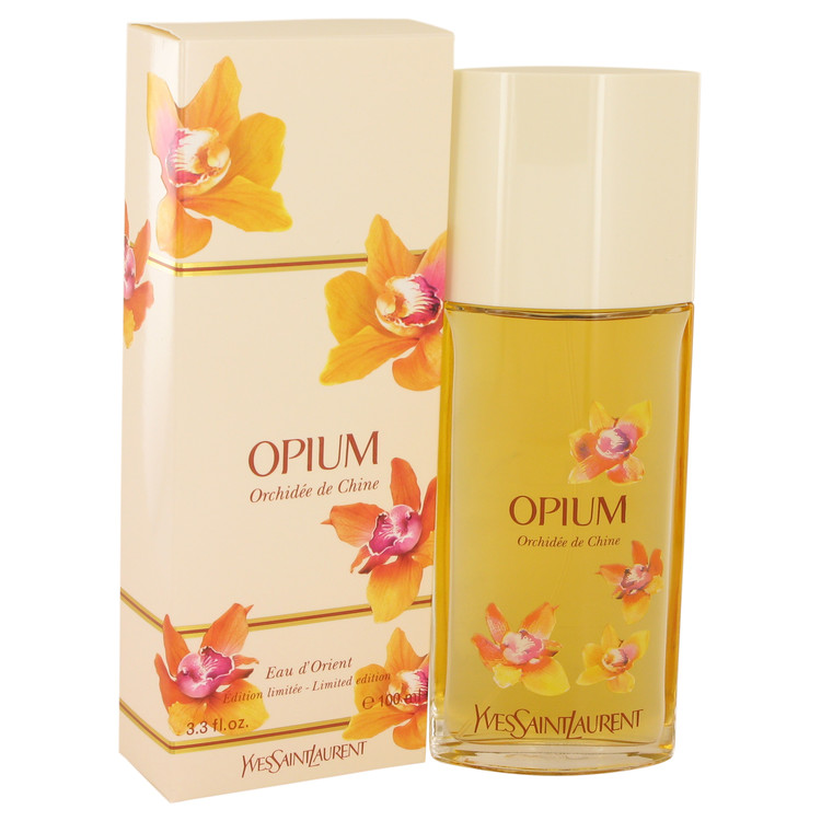 Opium Eau d'Orient Orchidee De Chine by Yves Saint Laurent for Women Eau De Toilette Spray 3.3 oz