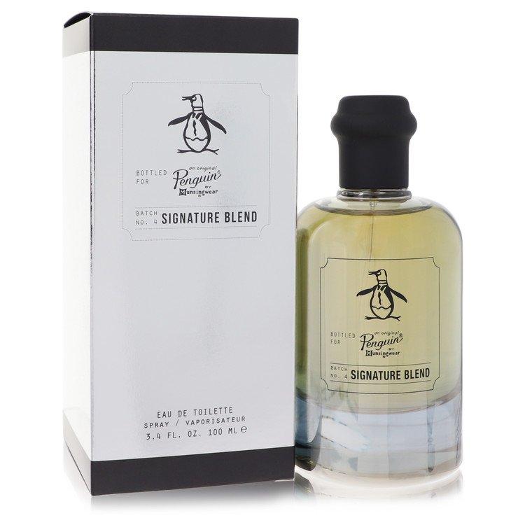 Original Penguin Signature Blend by Original Penguin Eau De Toilette Spray 3.4 oz for Men